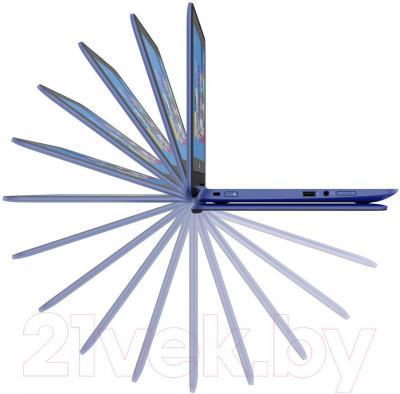 Ноутбук HP Stream x360 11-p055ur (L1S04EA) - изгиб на 360 градусов