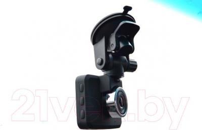 Автомобильный видеорегистратор Prestigio RoadRunner 320 (PCDVRR320) - на лобовом стекле