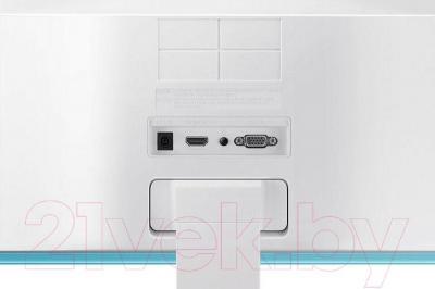Монитор Samsung S22E391H (LS22E391HSX/CI) - вид сзади