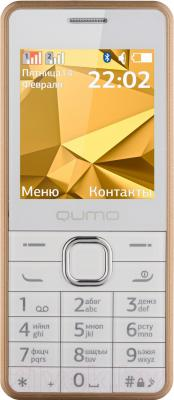 Мобильный телефон Qumo Push 242 Dual (бронза) - общий вид