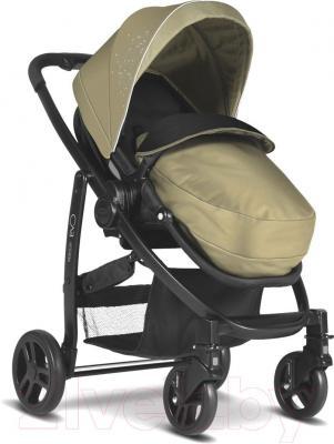 Детская прогулочная коляска Graco Evo / 7AG99SSDE (песочный) - общий вид