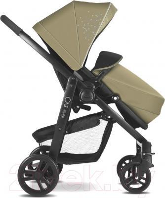Детская прогулочная коляска Graco Evo / 7AG99SSDE (песочный) - вид сбоку