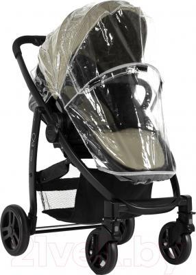 Детская прогулочная коляска Graco Evo / 7AG99SSDE (песочный) - дождевик