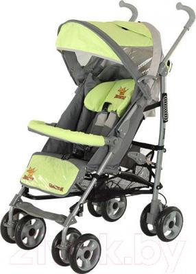 Детская прогулочная коляска Adamex Jimmy (светло-зеленый) - общий вид