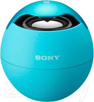 Портативная колонка Sony SRS-BTV5 (синий) - вид спереди