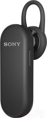 Односторонняя гарнитура Sony MBH20 (черный) - общий вид