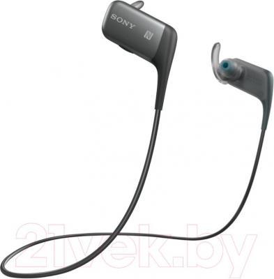 Наушники Sony MDR-AS600BTB - общий вид