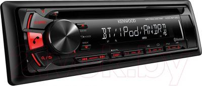 Автомагнитола Kenwood KDC-BT35U - вид сбоку