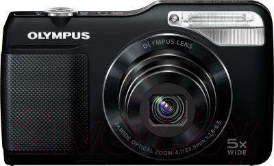 Компактный фотоаппарат Olympus VG-170 (черный) - вид спереди