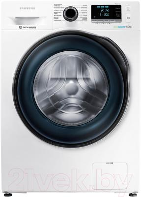 Стиральная машина Samsung WW60J6210DWLP - общий вид