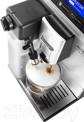 Кофемашина DeLonghi Autentica Cappuccino ETAM 29.660.SB - вид сверху