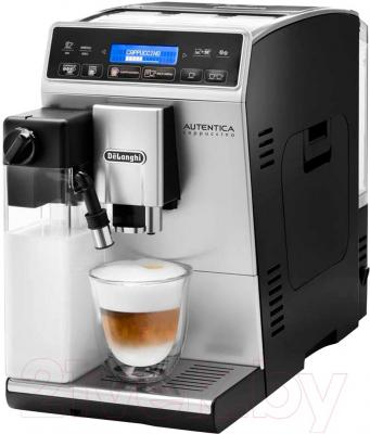 Кофемашина DeLonghi Autentica Cappuccino ETAM 29.660.SB - общий вид
