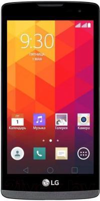 Смартфон LG Y50 Dual Leon / H324 (черно-титановый)