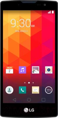 Смартфон LG Y70 Dual Spirit / H422 (черно-титановый) - общий вид