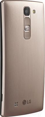 Смартфон LG Y90 Dual Magna / H502F (черно-золотой) - вид сзади