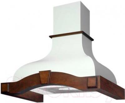 Вытяжка купольная Best Corinna 60 650м3/ч (белый) - общий вид