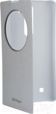 Чехол-книжка LG CCF-605AGRAWH (белый) - общий вид