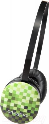 Наушники Creative HQ-1450 (зеленый) - общий вид