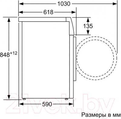 Стиральная машина Bosch WAK20240OE - схема
