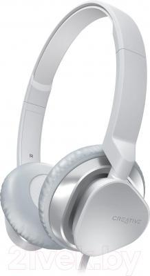 Наушники-гарнитура Creative MA2300 (белый) - общий вид