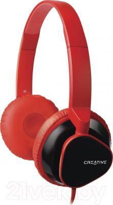 Наушники-гарнитура Creative MA2300 (красный) - общий вид