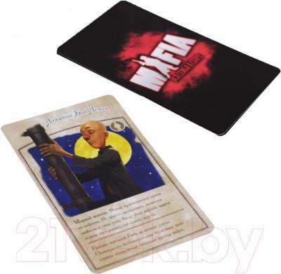 Настольная игра Мир Хобби Мафия. Вся семья в сборе 1070 (компактная версия) - карточки
