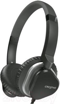 Наушники-гарнитура Creative MA2400 (черный) - общий вид