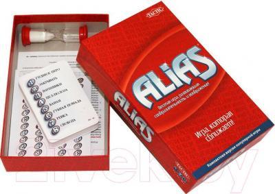 Настольная игра Tactic Алиас / Alias (компактная версия) - комплектация