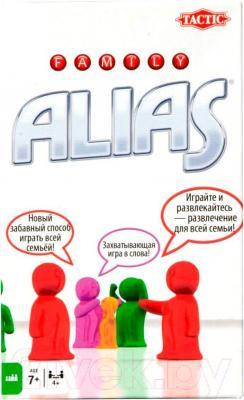 Настольная игра Tactic Алиас. Для всей семьи / Family Alias (компактная версия)