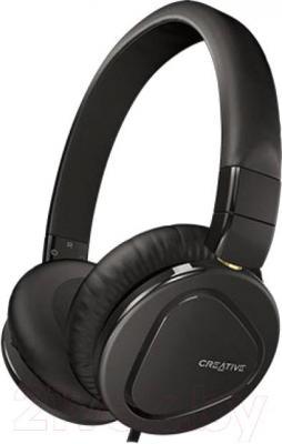 Наушники-гарнитура Creative MA2600 (черный) - общий вид