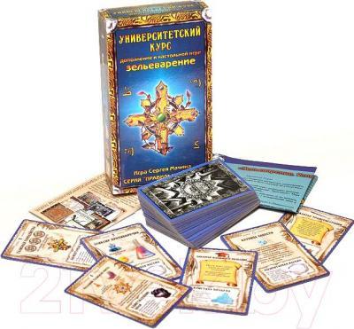 Настольная игра Правильные Игры Зельеварение. Университетский курс (дополнение) - комплектация