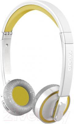 Наушники-гарнитура Rapoo H6080 (желтый) - общий вид