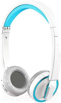 Наушники-гарнитура Rapoo H6080 (синий) - общий вид