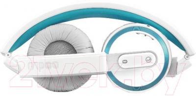 Наушники-гарнитура Rapoo H6080 (синий) - в сложенном виде