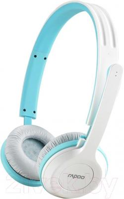 Наушники-гарнитура Rapoo H8030 (синий) - общий вид