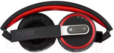 Наушники-гарнитура Rapoo H6080 (черный) - в сложенном виде