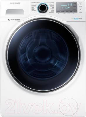 Стиральная машина Samsung WW90H7410EW/LP - общий вид
