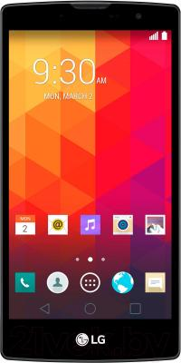 Смартфон LG Y90 Dual Magna / H502F (черно-титановый) - общий вид
