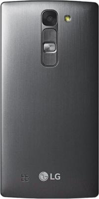 Смартфон LG Y90 Dual Magna / H502F (черно-титановый) - вид сзади