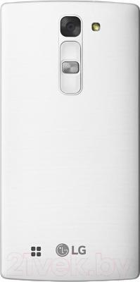 Смартфон LG Y90 Dual Magna / H502F (белый) - вид сзади