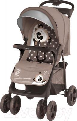 Детская прогулочная коляска Lorelli Foxy (Beige Panda) - общий вид