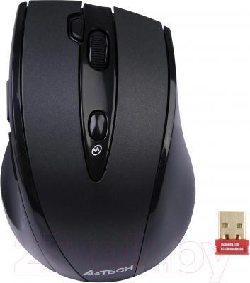 Мышь A4Tech G10-770HL - общий вид с приемником