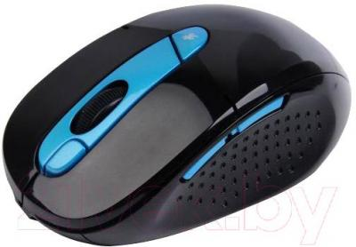 Мышь A4Tech G11-570HX-3 (черно-синий) - вид сбоку