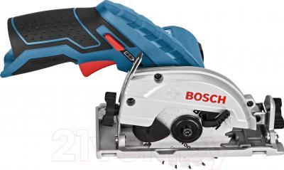Профессиональная дисковая пила Bosch GKS 10.8 V-LI Professional (0.601.6A1.001) - вид сбоку