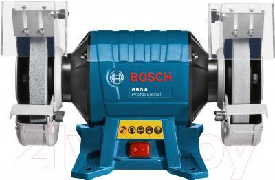Профессиональный точильный станок Bosch GBG 8 Professional (0.601.27A.100) - вид спереди