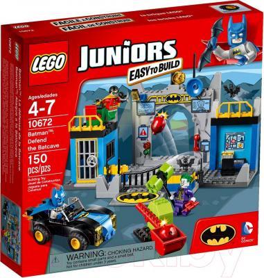 Конструктор Lego Juniors Бэтмен: Оборона Бэтпещеры (10672) - упаковка