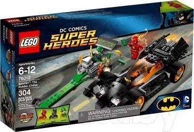Конструктор Lego Super Heroes Бэтмен: Погоня за Загадочником (76012) - упаковка
