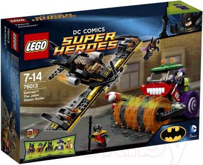 Конструктор Lego Super Heroes Бэтмен: Паровой каток Джокера (76013) - упаковка