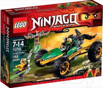 Конструктор Lego Ninjago Тропический багги Зеленого ниндзя (70755) - упаковка