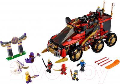 Конструктор Lego Ninjago Мобильная база Ниндзя (70750) - общий вид
